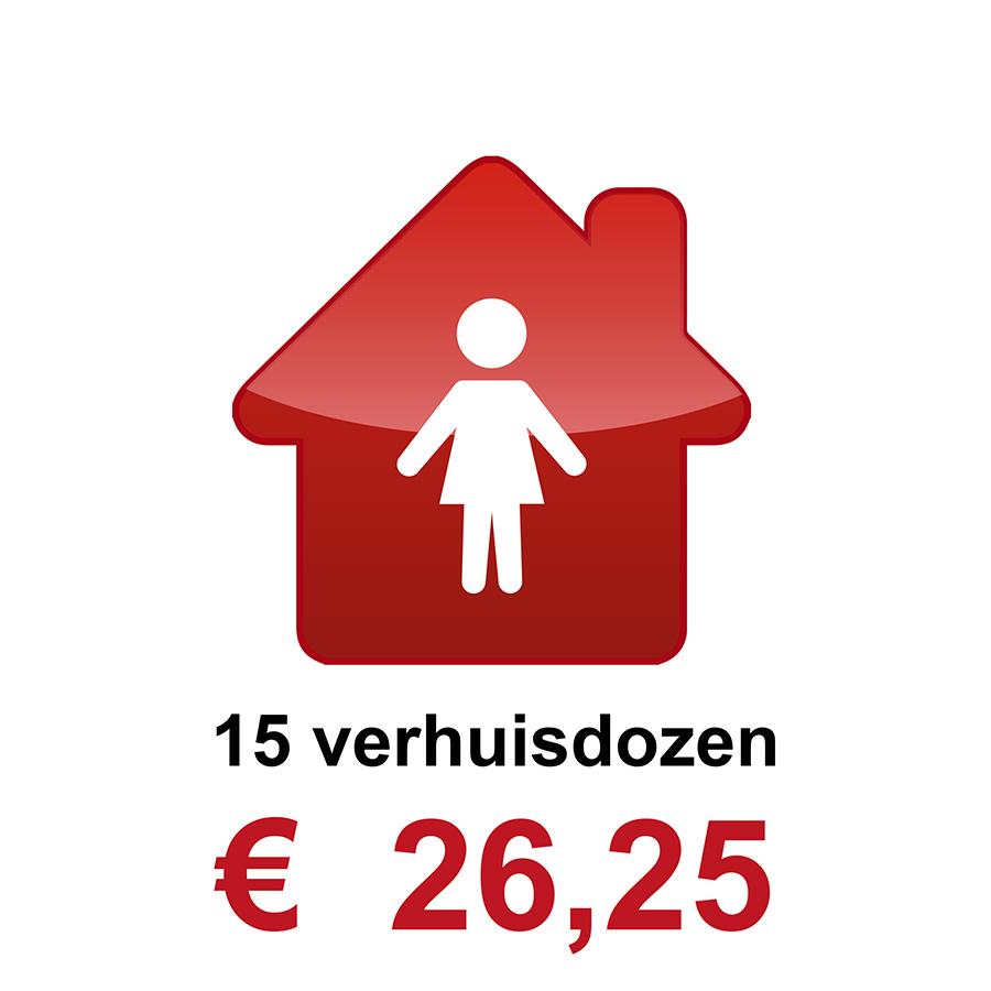 Verhuisdozen kopen klein huishouden